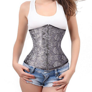 """Juliette"" Underbust Waist Cincher Corset-Waist Cinchers-Look Love Lust"