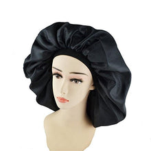 Load image into Gallery viewer, High Quality Super Jumbo Sleep Bonnet Cap to Protect Hair from Damage and Dryness-Hair Bonnets-Look Love Lust