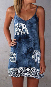 Lulu Tie-Dye Cami Dress-Dresses-Look Love Lust