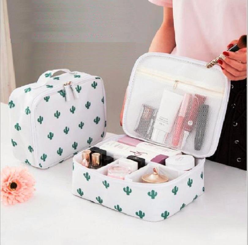 Large Capacity Makeup Organizer Cosmetic-Cosmetic Bags & Cases-Look Love Lust