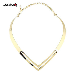 Rock V Choker Necklace-Torques-Look Love Lust