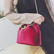 Load image into Gallery viewer, Amity Shoulder Bag With Chain-Look Love Lust