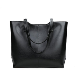 PU Leather Large Capacity Travel Tote Bag-Look Love Lust