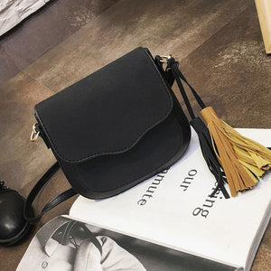 Crossbody Bag with Tassel Design-Look Love Lust