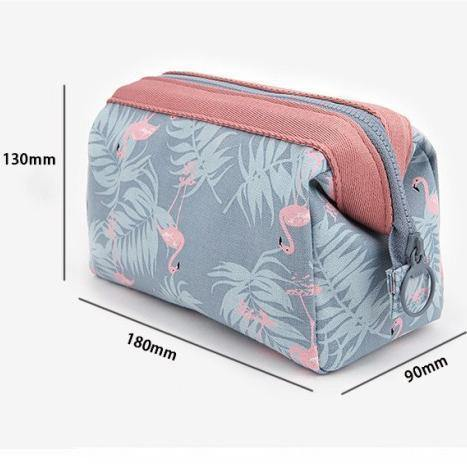 Portable Multifunction Beauty Travel Cosmetic Bag Organizer-Cosmetic Bags & Cases-Look Love Lust