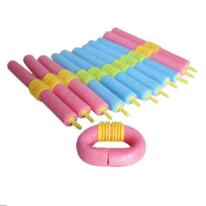 12PCS Soft Bendy Hair Sponge Curler Rollers-Hair Care-Look Love Lust