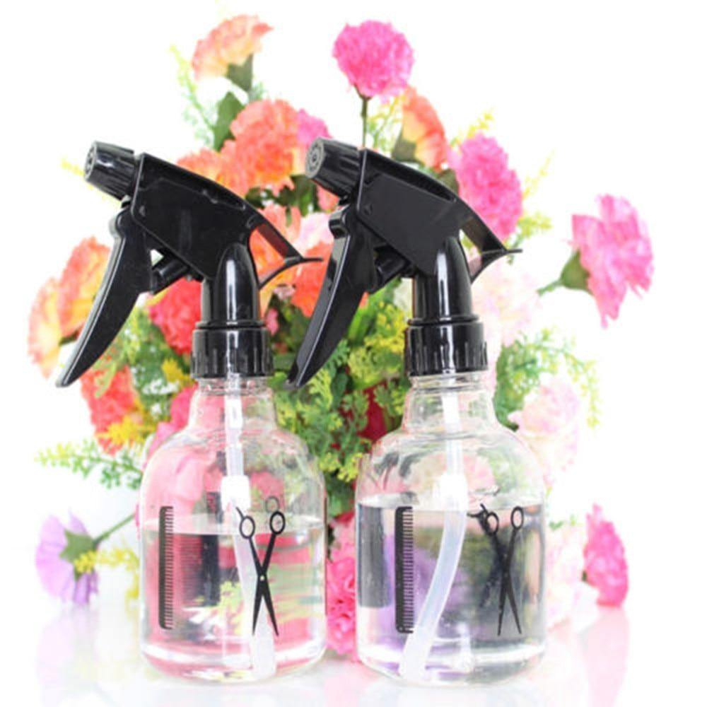 HairStylist/Barber Refillable Plastic Spray Bottles-Look Love Lust