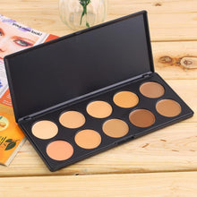 Load image into Gallery viewer, Professional 10 Color Concealer Contour Palette-Concealer-Look Love Lust