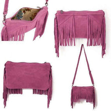 Load image into Gallery viewer, Fringe Tassel Crossbody Bag-Crossbody Bags-Look Love Lust