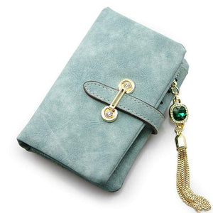 Marble Coin Faux Leather Wallet-Wallets-Look Love Lust