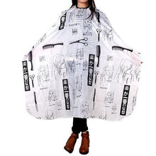 Load image into Gallery viewer, Long Beauty Hair Salon Hairdresser Cape - Great for Hair Styling or Hair Trimming-Styling Cape-Look Love Lust