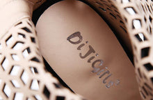 Load image into Gallery viewer, Summer Gladiator High Heel Open Toe Boots-Stilettos-Look Love Lust
