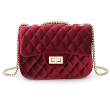 Load image into Gallery viewer, Velvet Chain Crossbody Bags For Women-Shoulder Bags-Look Love Lust