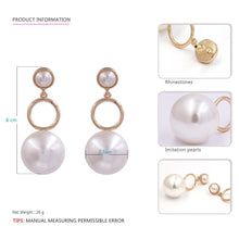 Load image into Gallery viewer, Pearl Drop Earrings-Look Love Lust