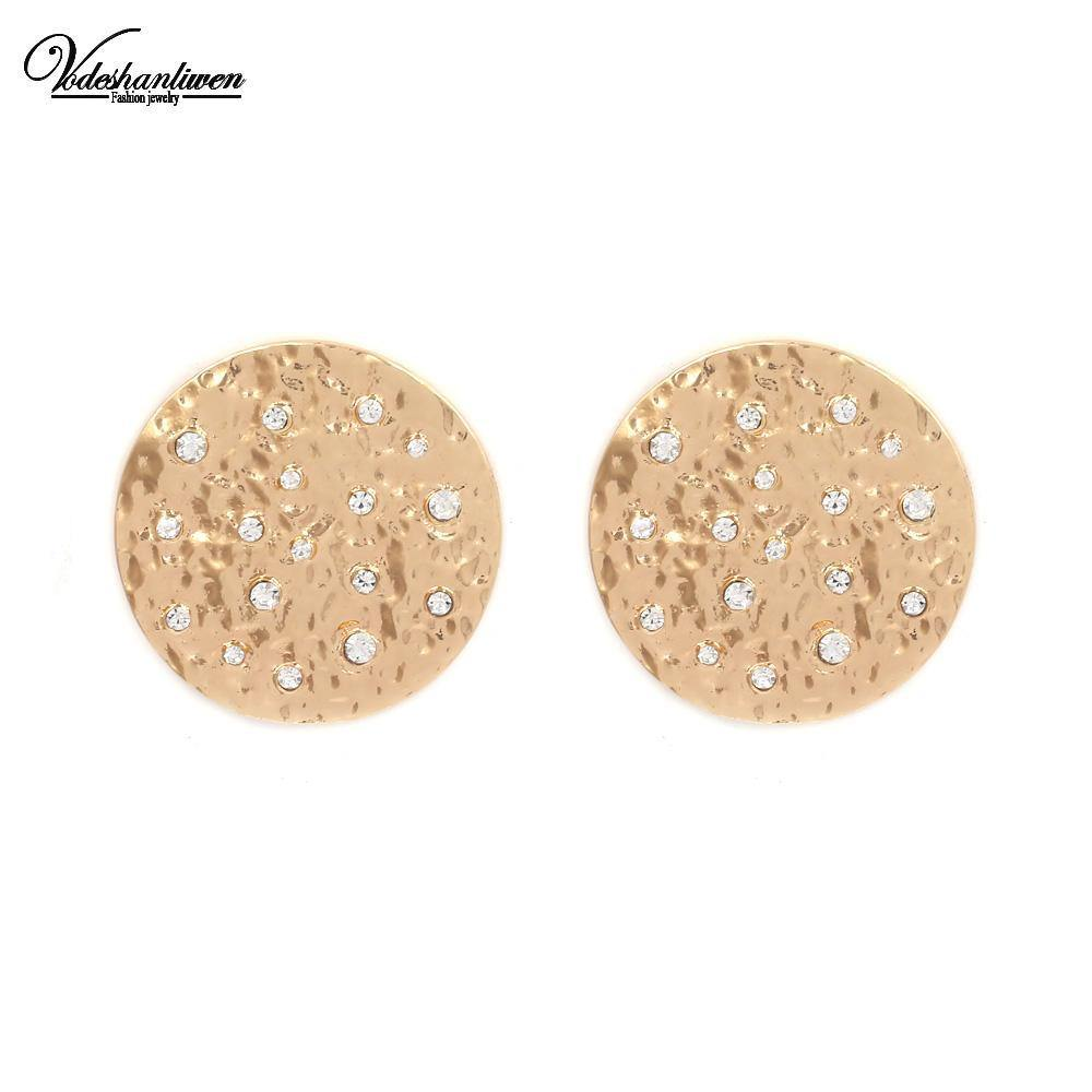 Round Stud Earrings-Look Love Lust