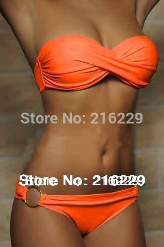 Colorful Occidental Secret Beach Bikini-Bikini-Look Love Lust