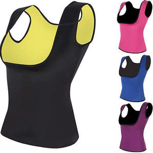 Neoprene Sleeveless Body Shaper-Tops-Look Love Lust