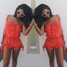 Load image into Gallery viewer, Sexy Mini Summer Playsuit-Rompers-Look Love Lust