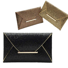Load image into Gallery viewer, Glitter Clutch Bag-Wallets-Look Love Lust