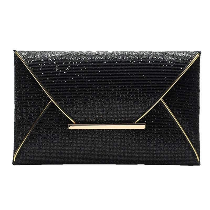 Glitter Clutch Bag-Wallets-Look Love Lust