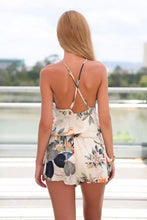 Load image into Gallery viewer, Sexy Floral Print Jumpsuit Romper-Rompers-Look Love Lust