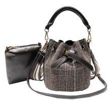 Load image into Gallery viewer, Kiyomi Canvas Bucket Bag-Look Love Lust