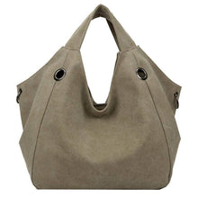 Load image into Gallery viewer, Canvas Shoulder Bag-Handbags-Look Love Lust