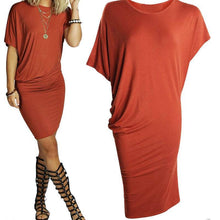Load image into Gallery viewer, Stretch T-Shirt Dress-Casual Dresses-Look Love Lust