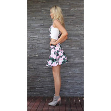 Load image into Gallery viewer, TING-A-LING Flirt Skirt - Bouquet-Women - Apparel - Skirts - Mini-Look Love Lust