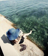 Load image into Gallery viewer, Wide Large Brim Beach Sun Hat-Accessories-Look Love Lust
