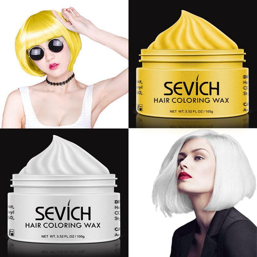 Unisex Hair Wax Color Dye in Several Colors-Hair Care-Look Love Lust