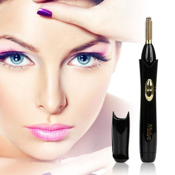 Portable Electric Eyelash Curler Brush-Makeup Tools-Look Love Lust