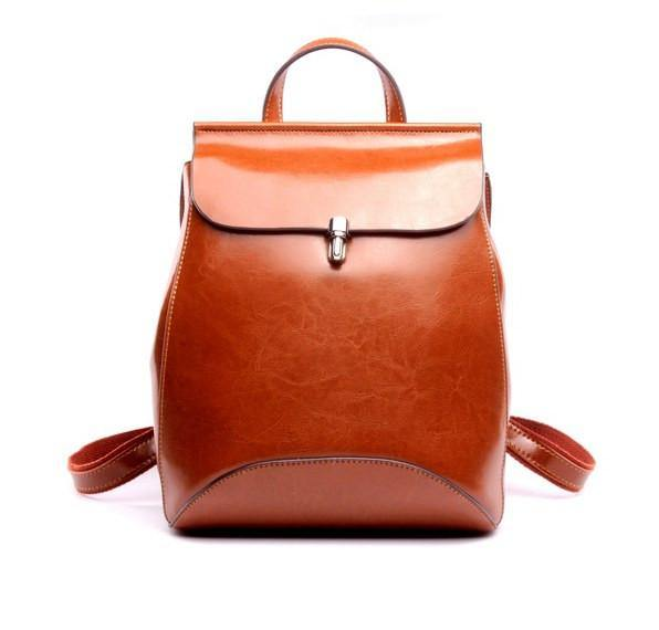 Vintage Leather PU Backpack -  - Backpacks, www.looklovelust.com - 2