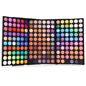 Pro 120/180/252 Full Color Eyeshadow Cosmetics Mineral Eye Shadow Palette Makeup Kit-Makeup-Look Love Lust
