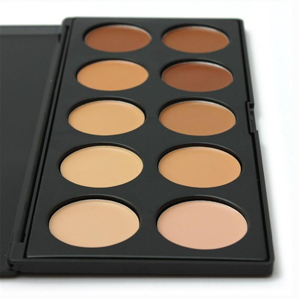 Professional 10 Color Concealer Contouring Kit Look Love Lust