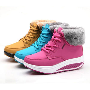 Platform Winter Boots-Shoes-Look Love Lust