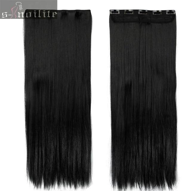 30inch Extra Long Thick Hair Clip-ins-Look Love Lust