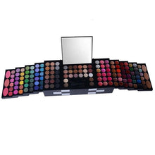 Load image into Gallery viewer, Pro Full Color 148 pc Eyeshadow Color Lip Gloss Blusher Palette Kit-Makeup-Look Love Lust