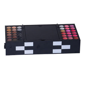 Pro Full Color 148 pc Eyeshadow Color Lip Gloss Blusher Palette Kit-Makeup-Look Love Lust