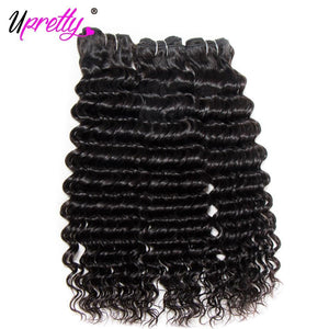 Brazilian Deep Wave Human Hair w Closure-Look Love Lust