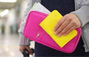 Multifunction Passport Wallet Credit Card Package ID Holder Travel Storage-Wallets-Look Love Lust