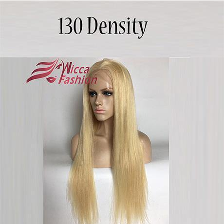 Blonde 130% Density Silky Straight Brazilian Lace front Wig-Look Love Lust