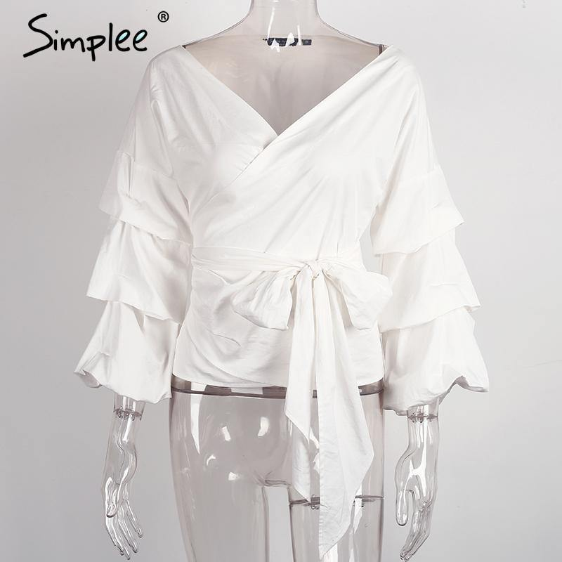 Sexy Ruffled Off Shoulder Blouse-Tops-Look Love Lust