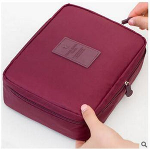 Multifunction Cosmetic Makeup Toiletry Travel Bags - zao red cosmetic bag / China - Makeup Tools, www.looklovelust.com - 2