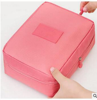 Multifunction Cosmetic Makeup Toiletry Travel Bags - pink cosmetic bag / China - Makeup Tools, www.looklovelust.com - 10