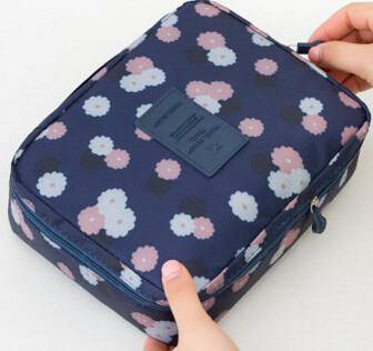 Multifunction Cosmetic Makeup Toiletry Travel Bags - zangqing flower / China - Makeup Tools, www.looklovelust.com - 15