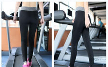 Load image into Gallery viewer, Women Yoga Elastic Sports Pants-Leggings-Look Love Lust
