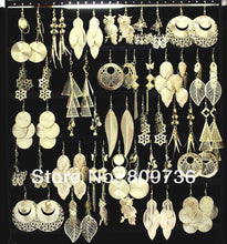 Load image into Gallery viewer, Bulk Gold Tone Fashion Earring Jewelry Sets (12 Pairs)-Jewelry-Look Love Lust