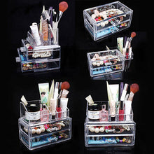 Load image into Gallery viewer, Acrylic Cosmetic Organizer Drawer Makeup Case Storage Insert Holder Box-Makeup Tools-Look Love Lust