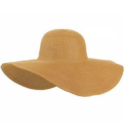 Wide Large Brim Beach Sun Hat-Accessories-Look Love Lust